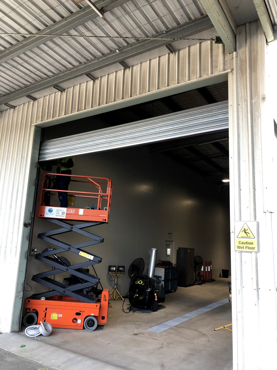 Servicing Industrial Garage Doors Melbourne